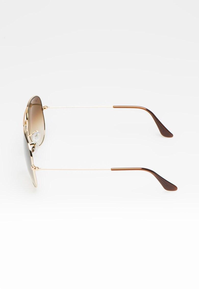 Ochelari de soare aviator unisex imagine fashiondays.ro Ray-Ban