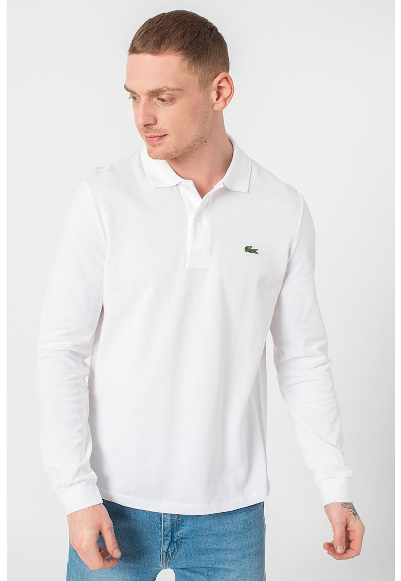 Bluza polo din material pique imagine