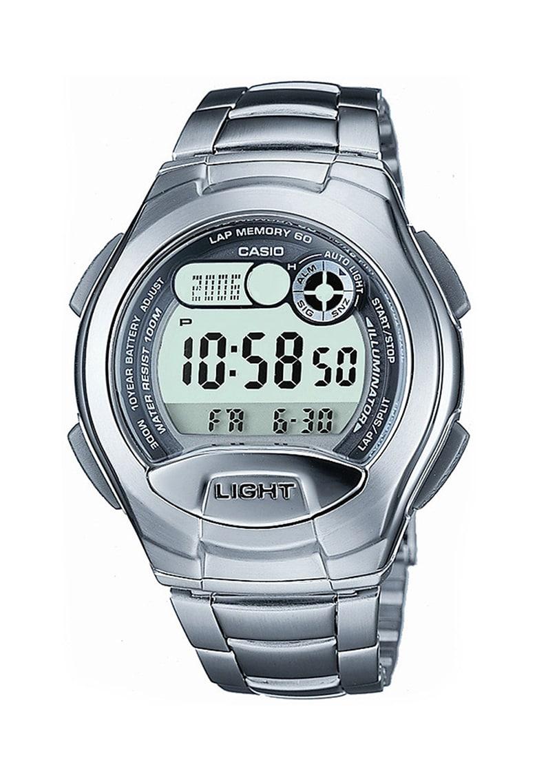 Casio Ceas cronograf argintiu Sports