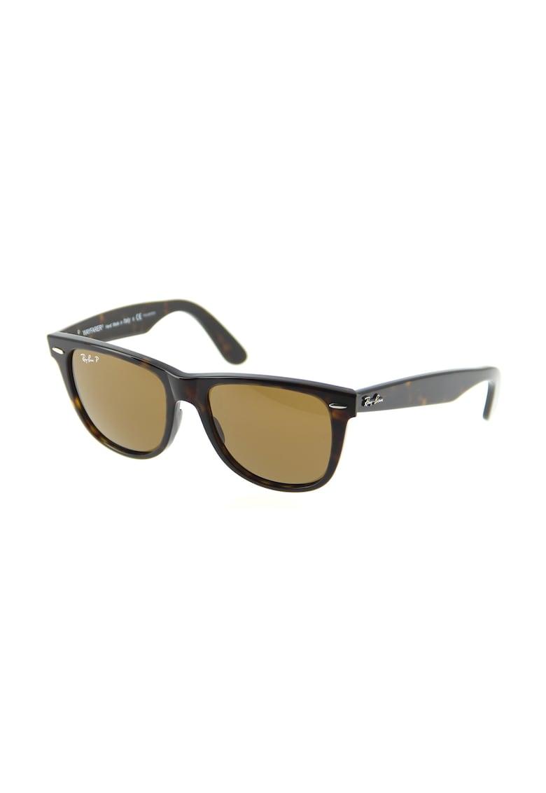 Ochelari de soare maro Wayfarer