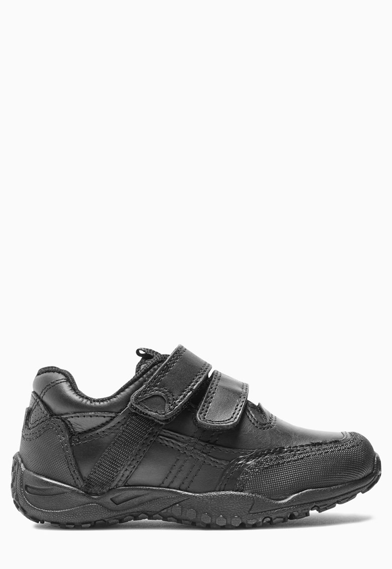 Pantofi sport negri de piele