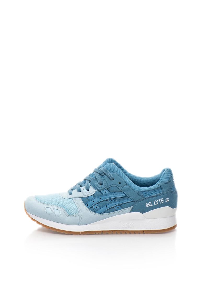 Pantofi sport cu insertii de piele intoarsa RS 2.0 Mono Metal 2