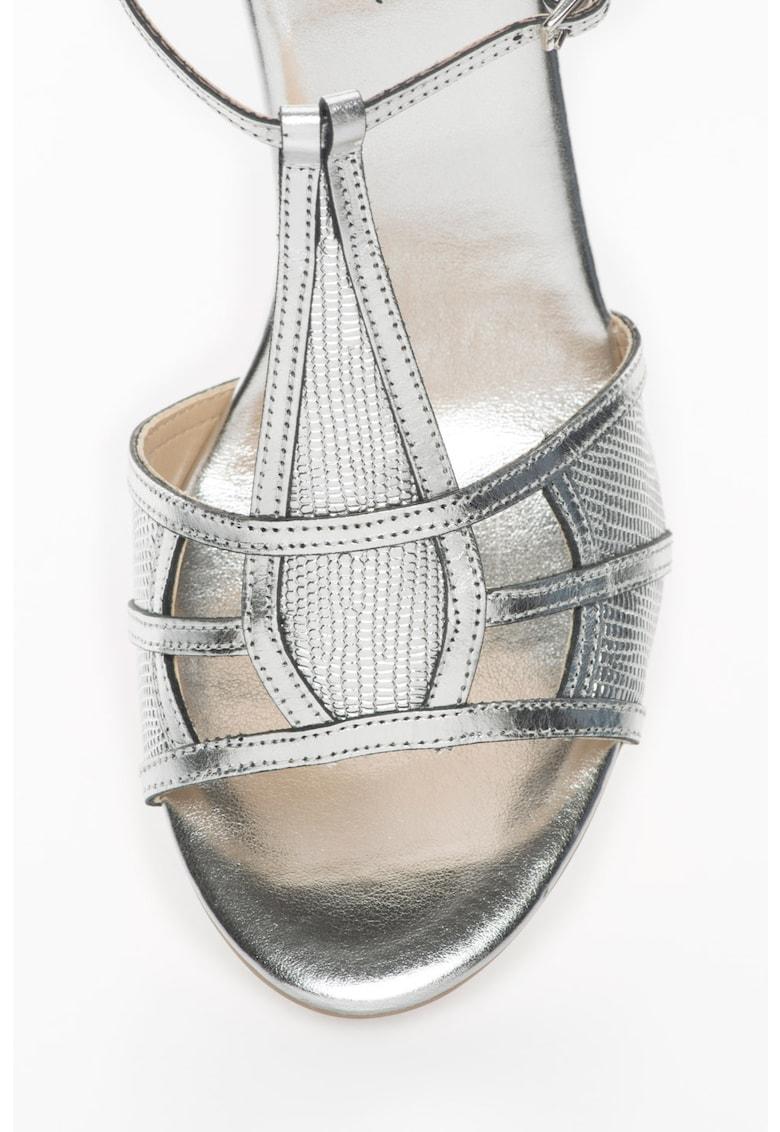 Sandale slingback cu toc de pluta Lizzy