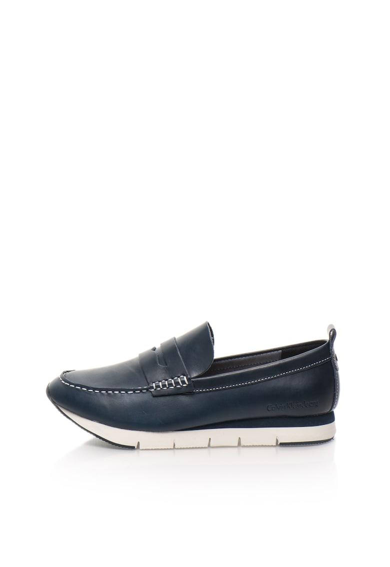 Pantofi loafer bleumarin Haben de la Calvin Klein Jeans