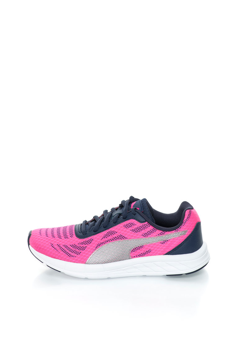 Puma Pantofi sport roz aprins cu bleumarin Meteor