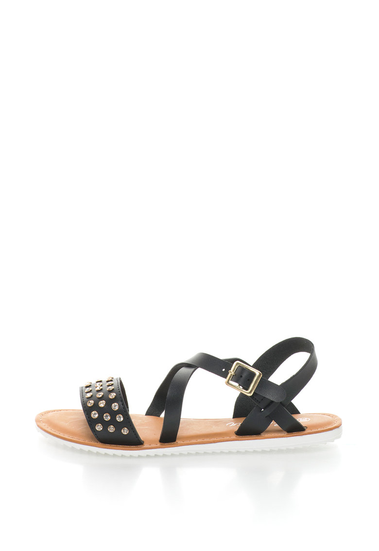 Sandale cu strasuri Bonny imagine fashiondays.ro