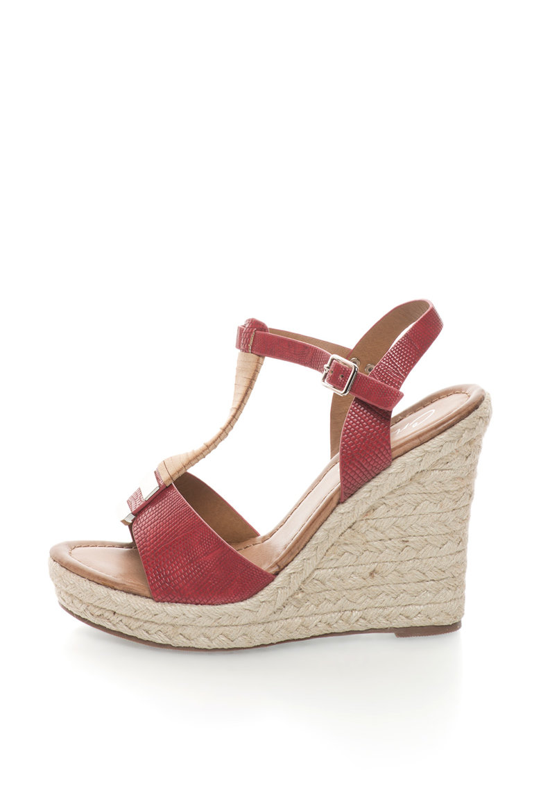 Sandale wedge Cristina 1 imagine fashiondays.ro
