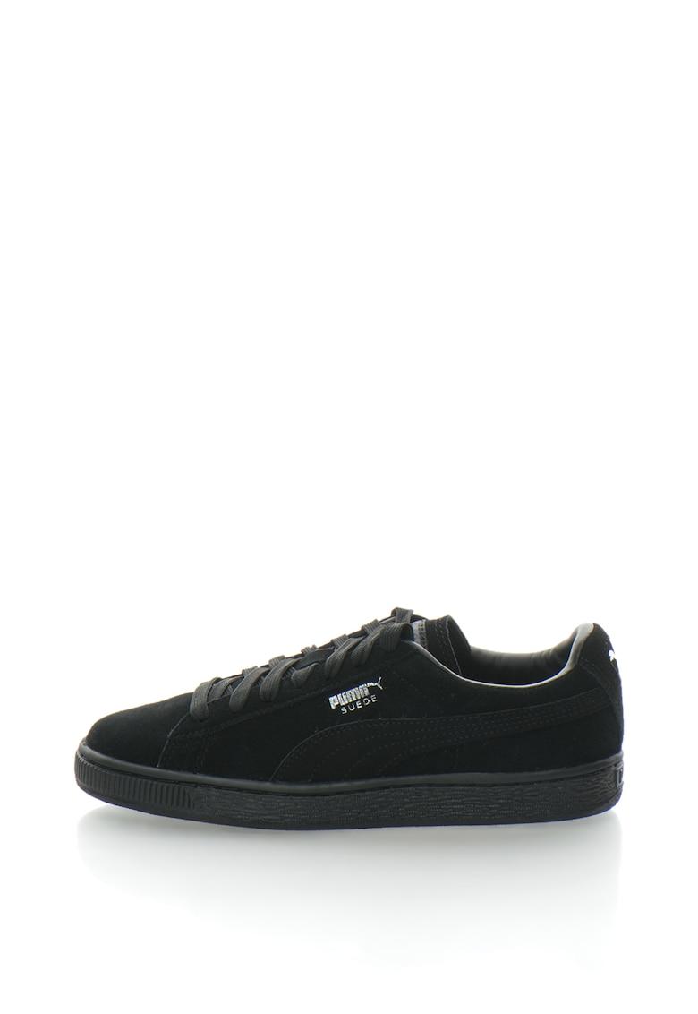 Puma Pantofi sport de piele intoarsa – cu logo discret Classic – Unisex