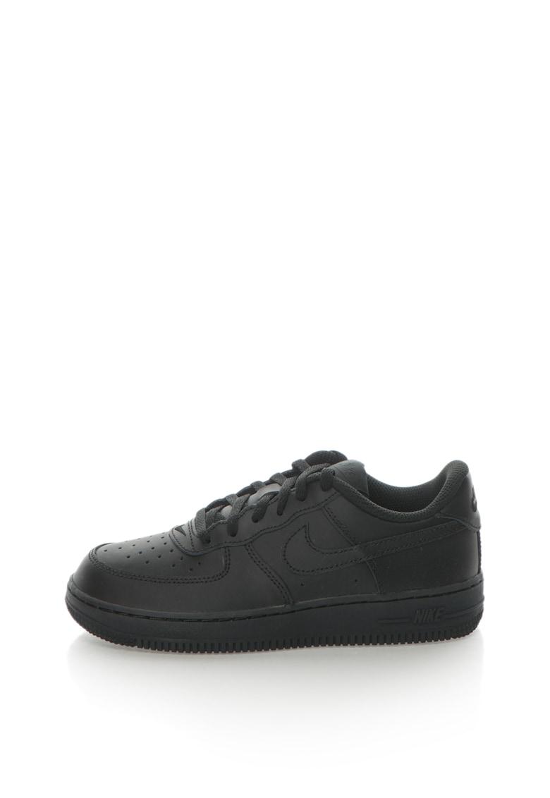 Pantofi sport de piele cu detalii perforate Force 1