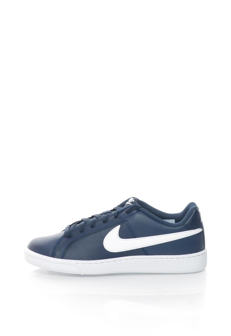 Pantofi sport cu logo si garnituri de piele Court Royal 749747