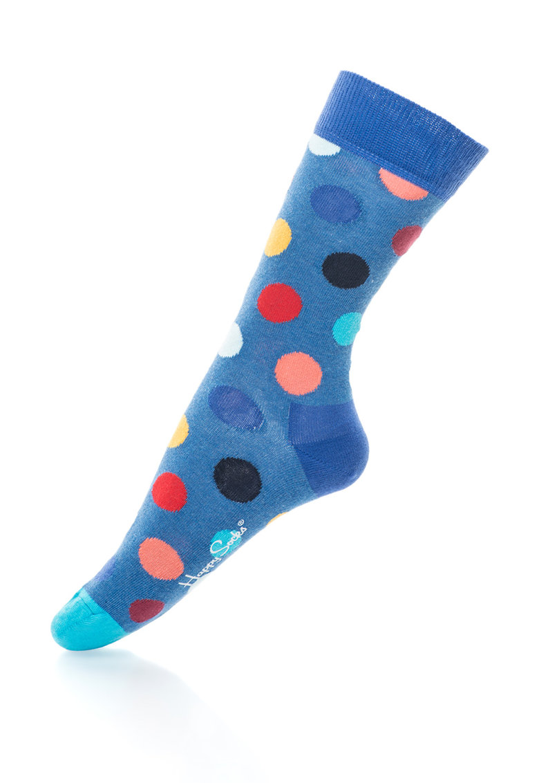 Happy Socks Sosete 3/4 cu buline Big – unisex