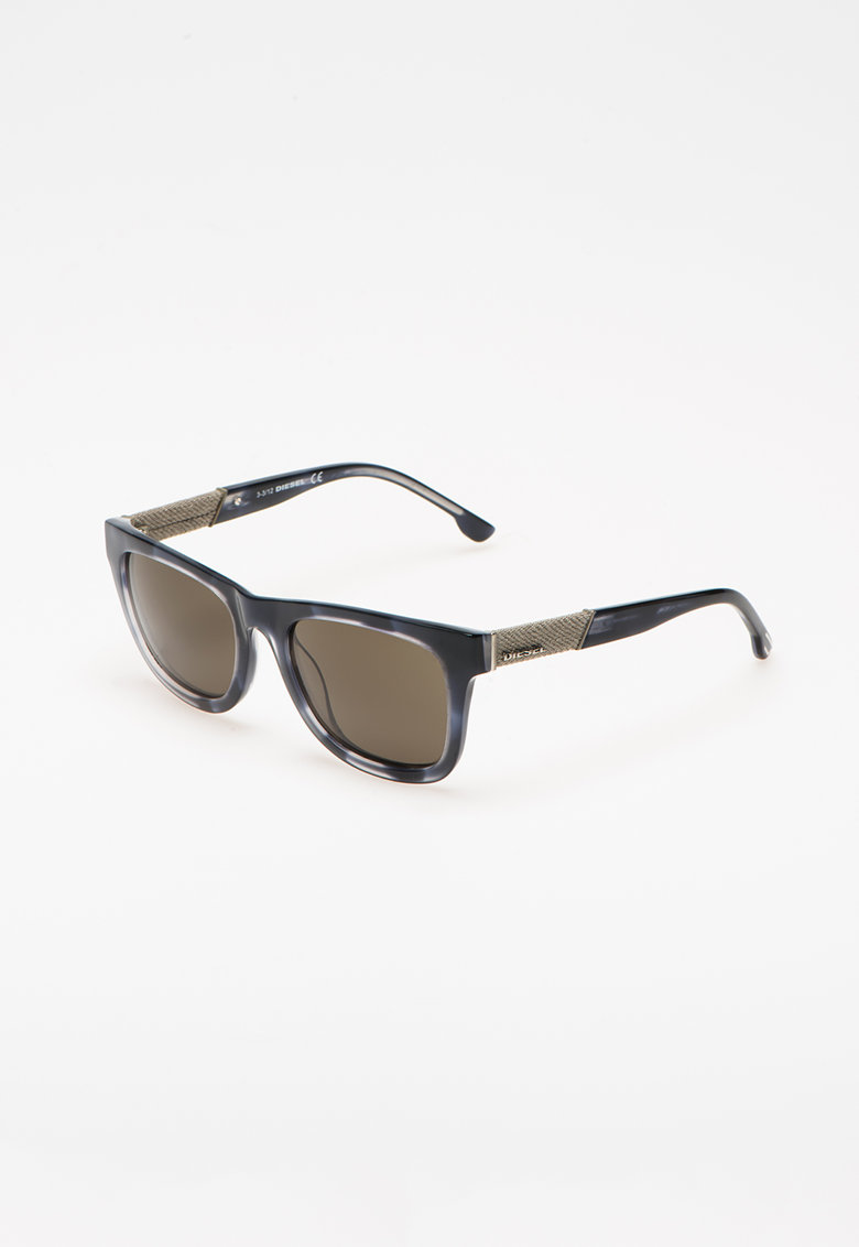 Ochelari de soare cu insertii de denim poza fashiondays