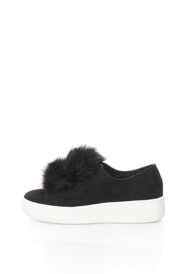 Pantofi slip-on cu platforma Bryanne imagine fashiondays.ro 2021