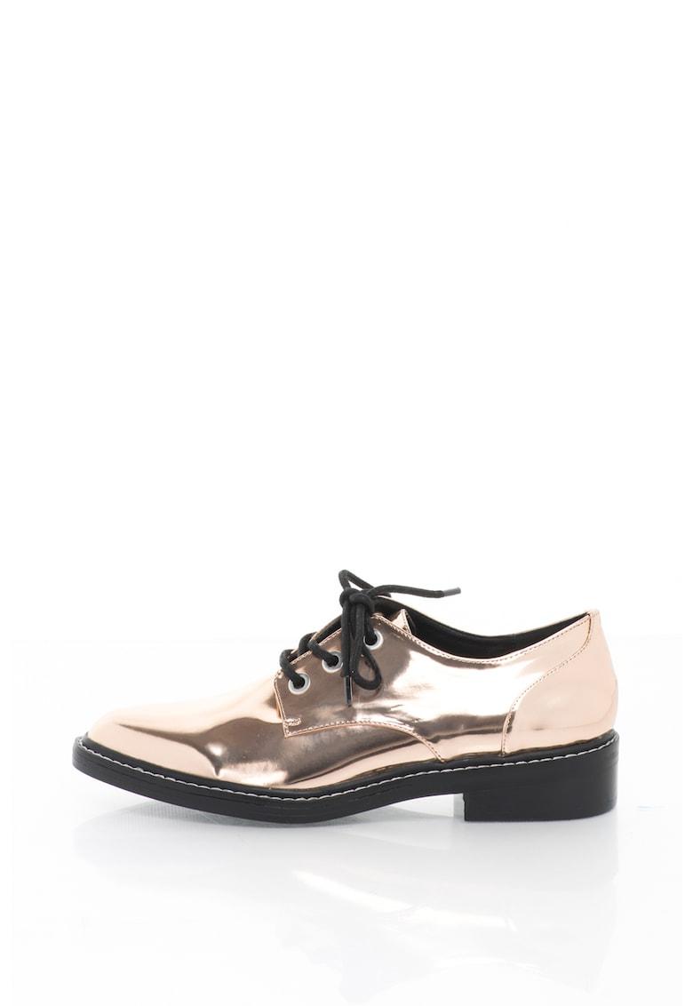 Pantofi derby cu sireturi Little