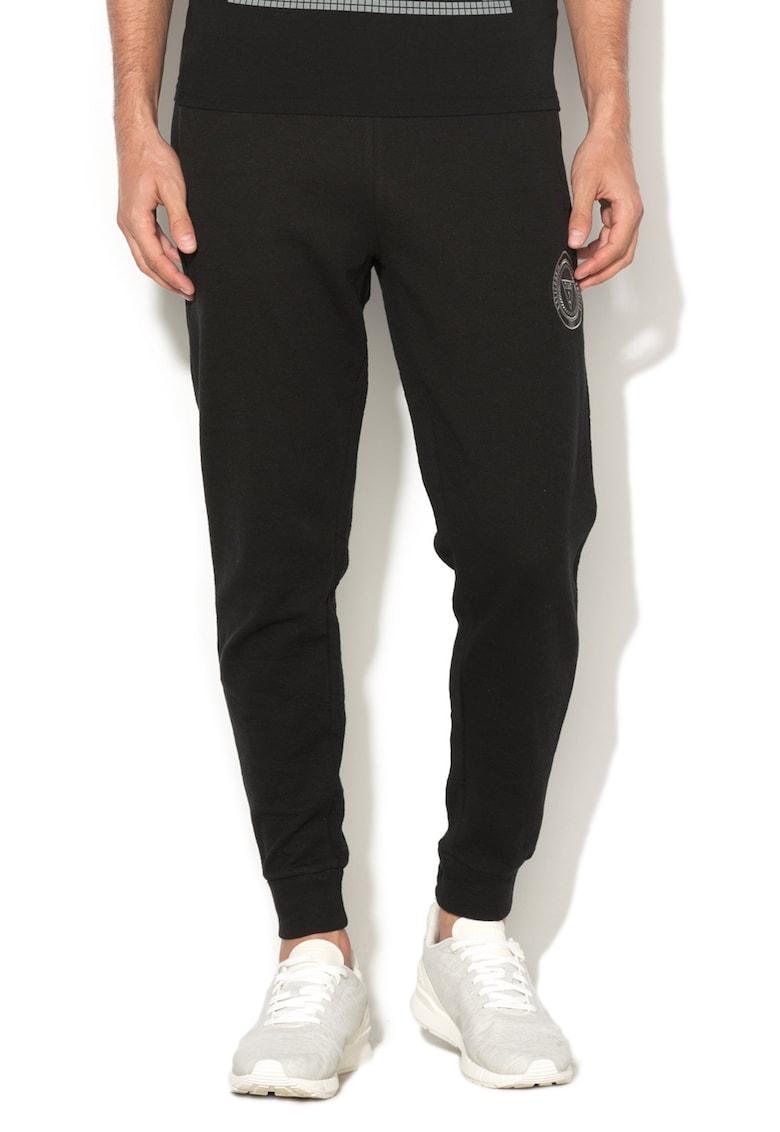 GUESS JEANS Pantaloni sport cu logo