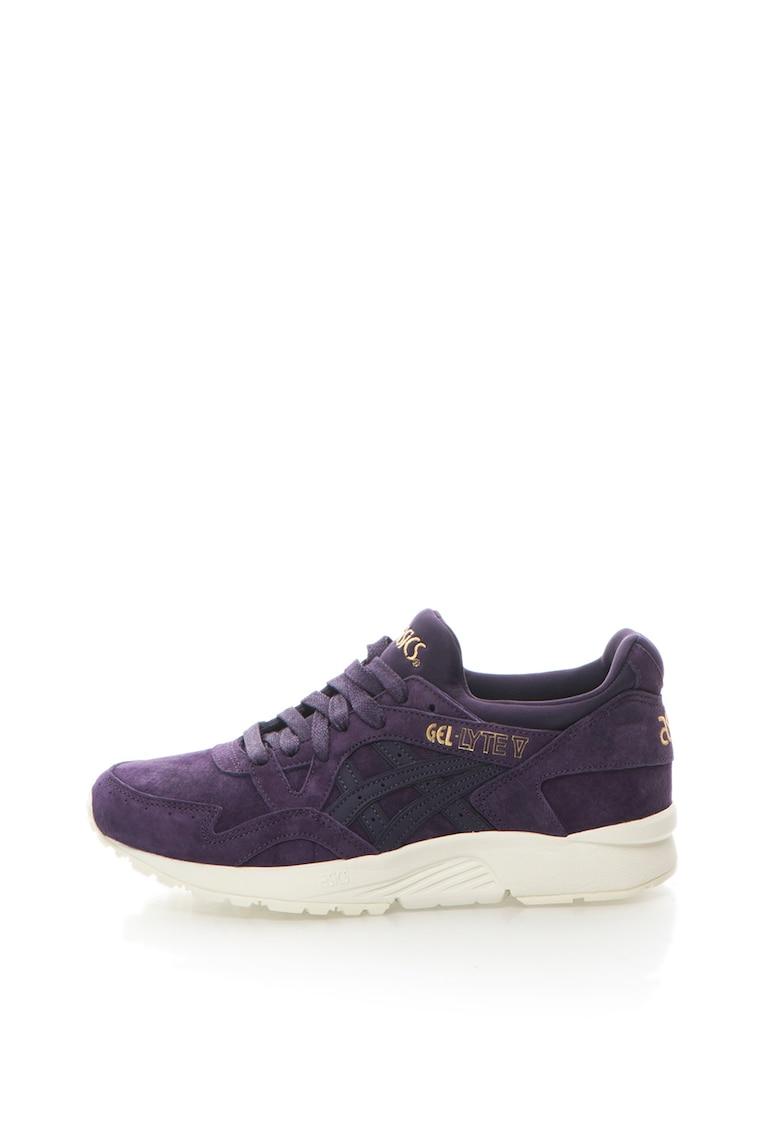 Pantofi sport de piele intoarsa si piele Gel-Lyte V