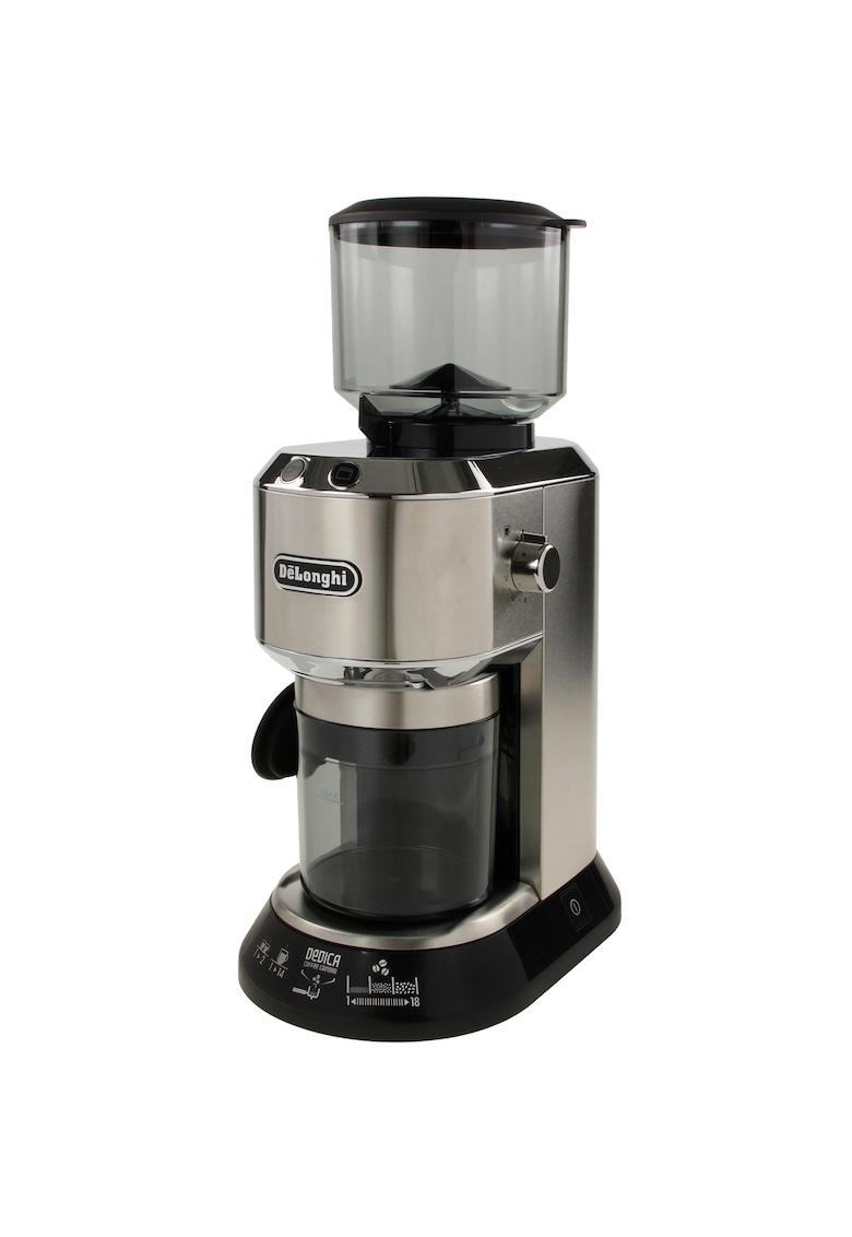 DeLonghi Rasnita de cafea De'Longhi Dedica KG 520M - 150 W - 350 g - Argintiu / Negru