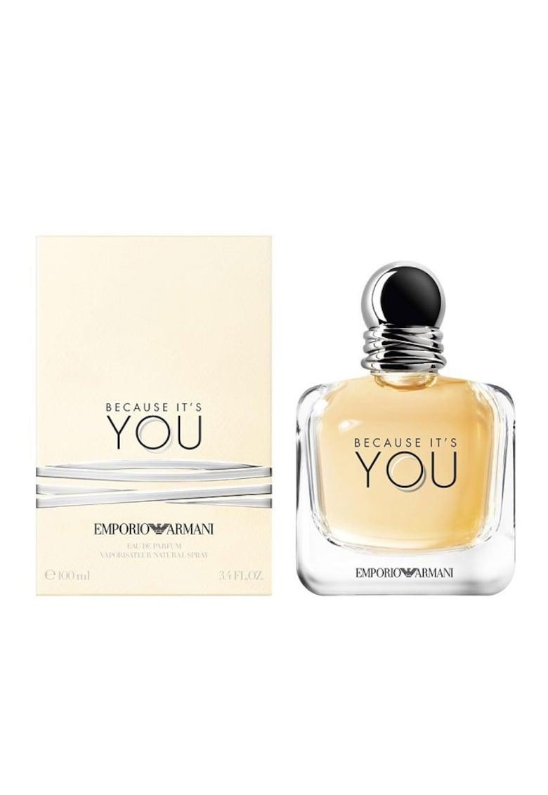 Apa de Parfum Emporio Armani Because It`s You - Femei imagine