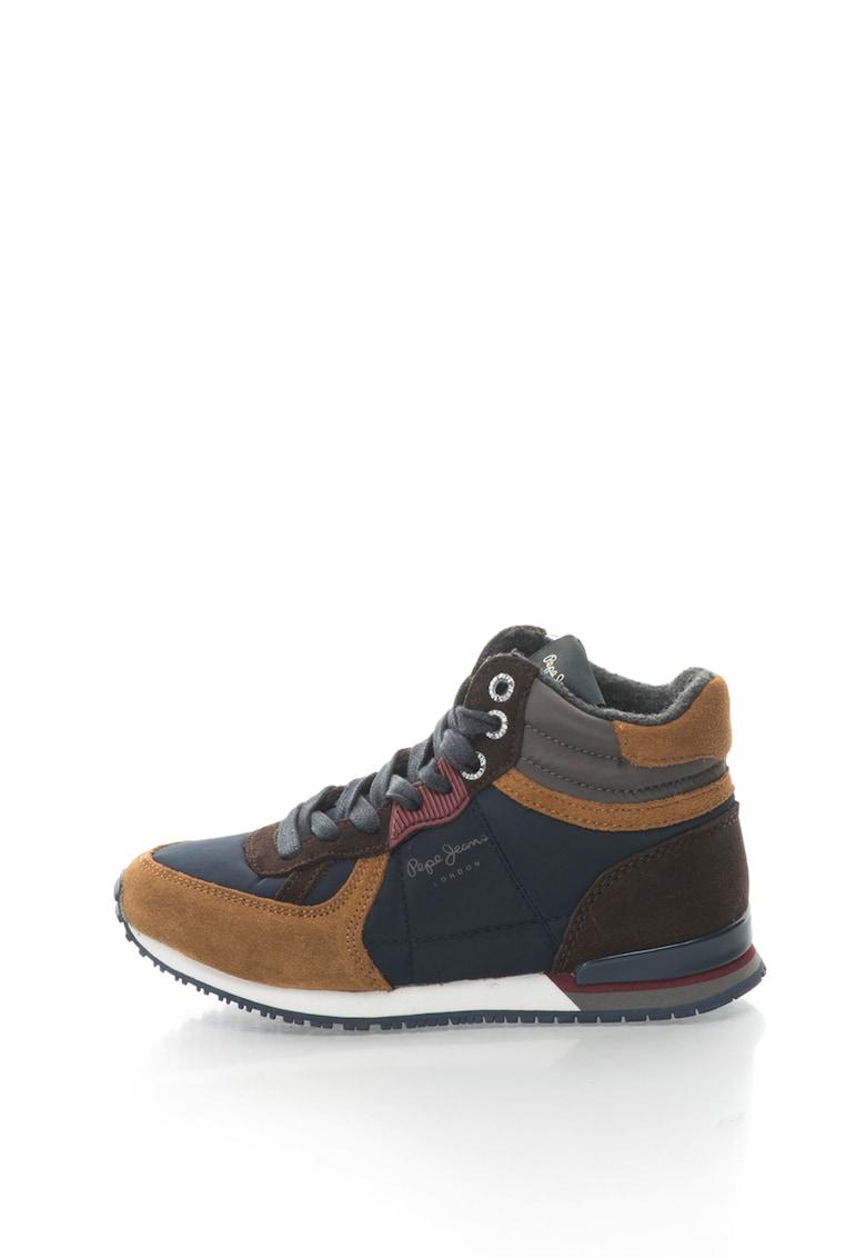 Pantofi sport mid-top cu garnituri de piele intoarsa Sydney fashiondays.ro