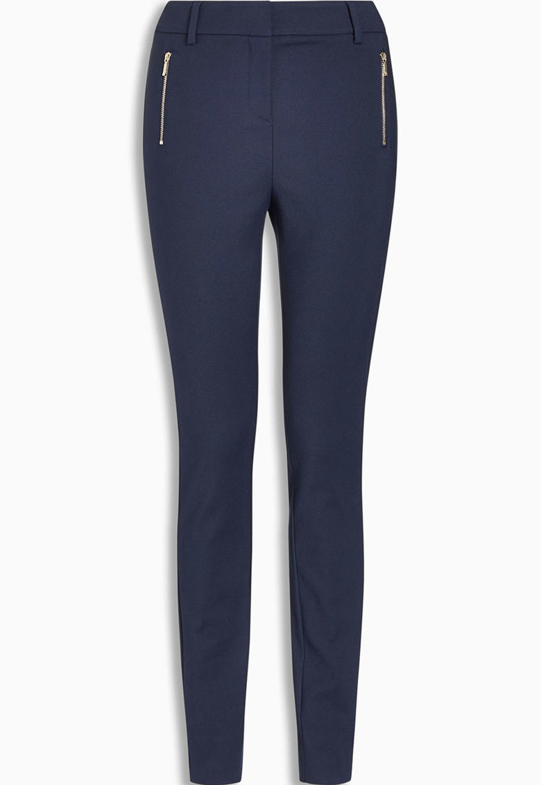 Pantaloni skinny cu fermoare decorative de la NEXT