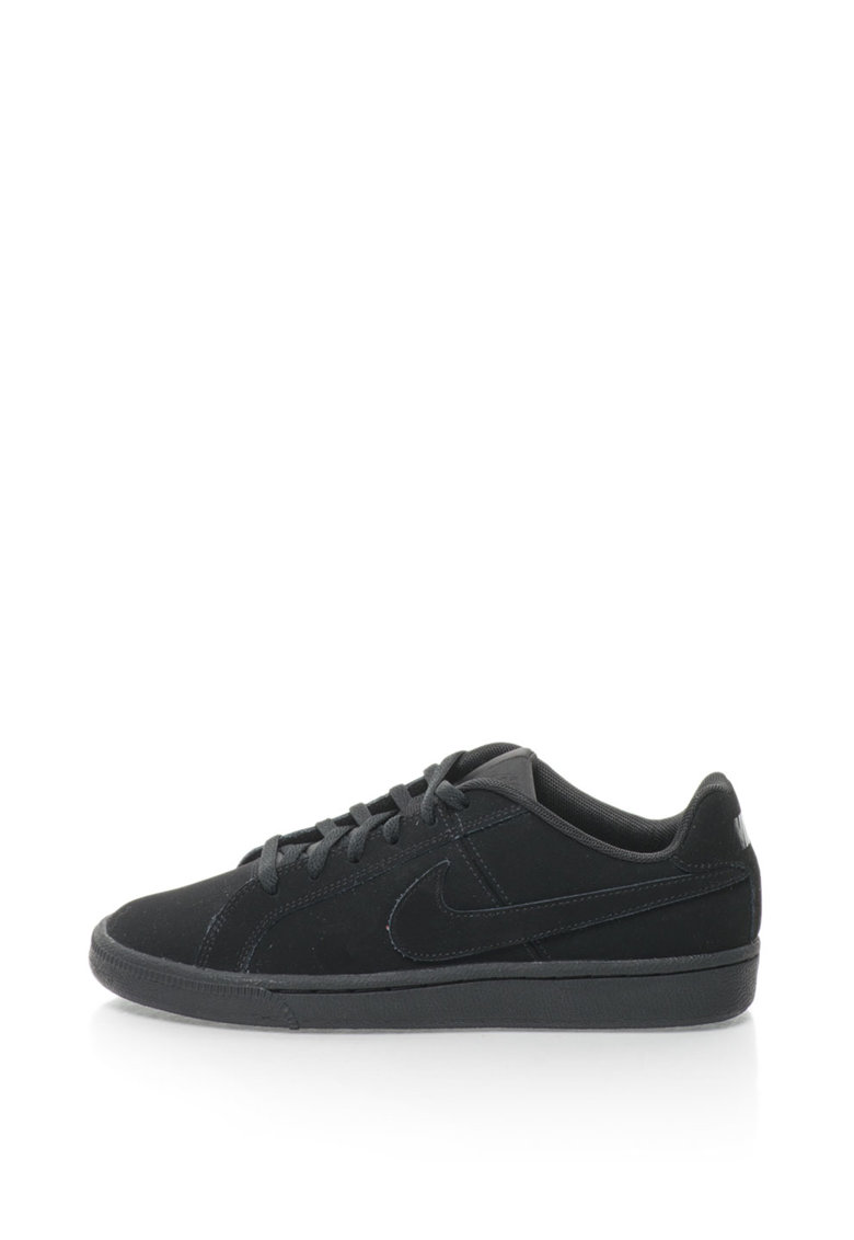 Pantofi sport de piele nabuc cu logo Court Royale Nike