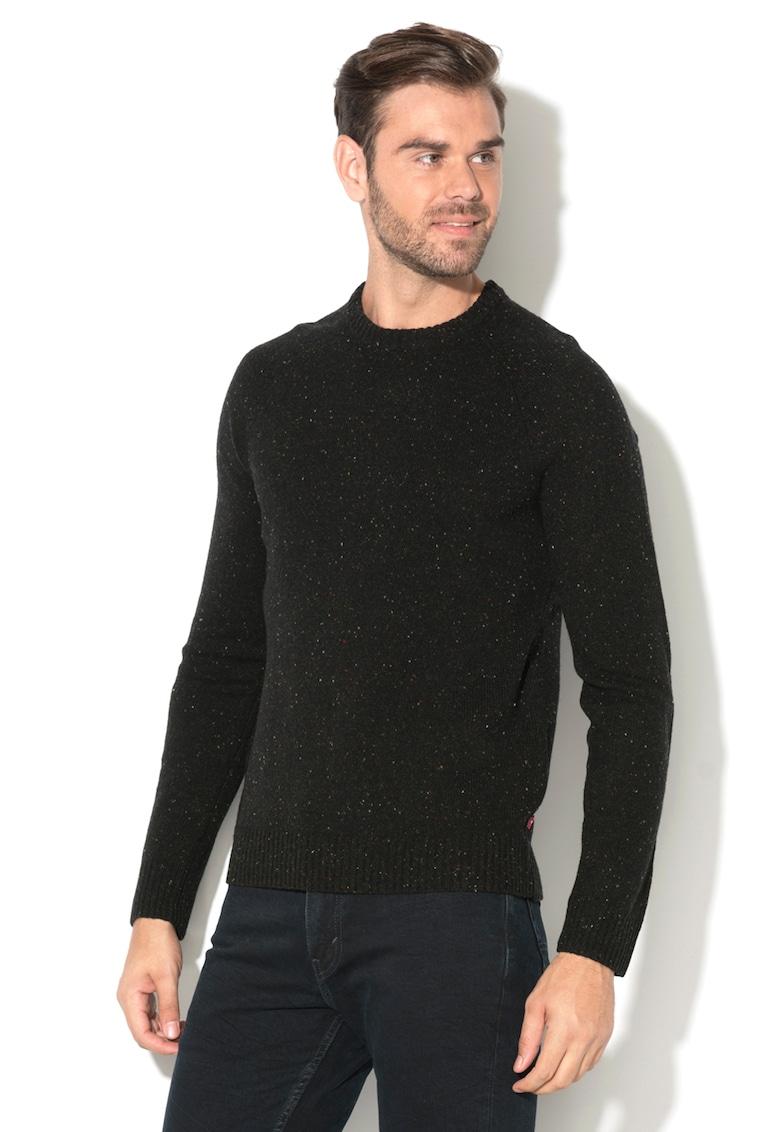 Pulover cu decolteu la baza gatului de lana imagine fashiondays.ro 2021
