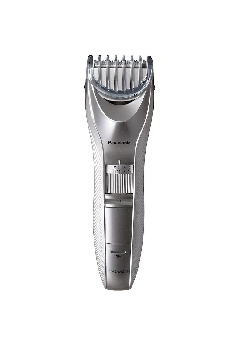 Trimmer pentru barba si par corporal - 39 de trepte de ajustare intre 1 si 20 cm - Argintiu imagine