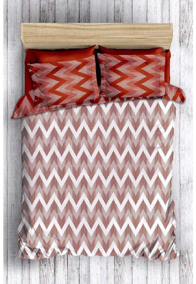 Lenjerie de pat din bumbac ranforce - matlasat Leunelle fashiondays.ro