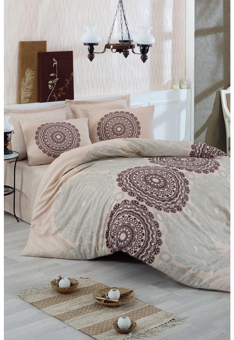 Lenjerie de pat din bumbac ranforce Figura de la Leunelle