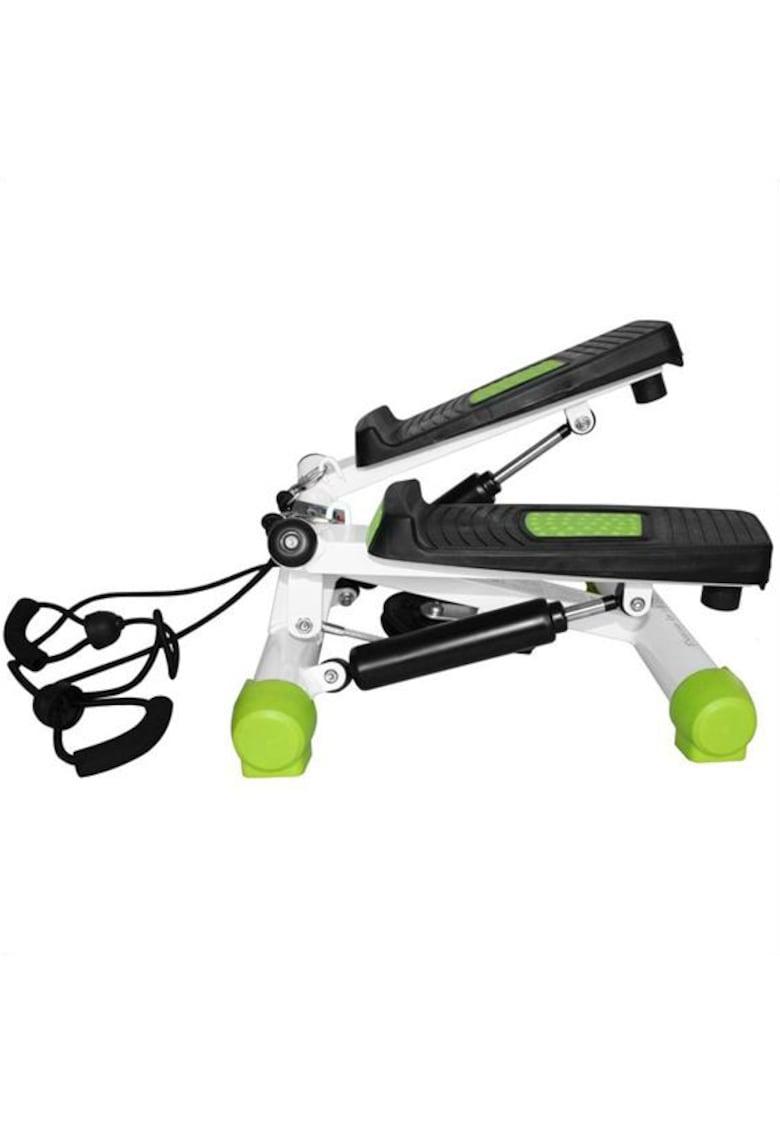 Stepper lateral Twist S3033 - greutate maxima utilizator 100kg - negru/verde