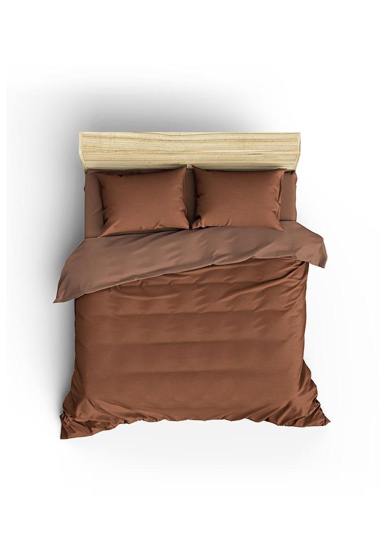 Lenjerie de pat din bumbac ranforce Lilyum de la Leunelle