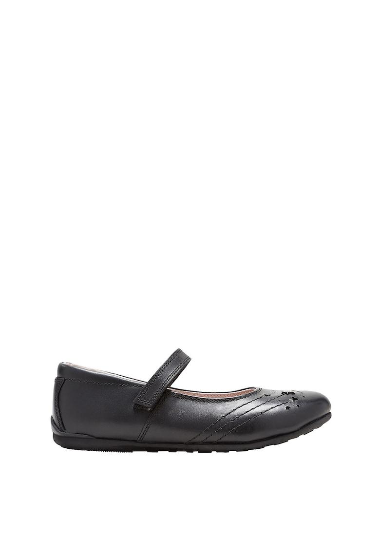NEXT Pantofi Mary Jane de piele cu talpa interioara moale