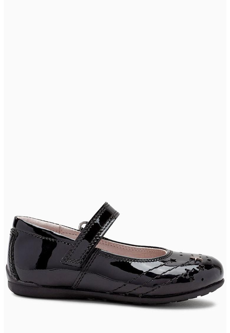 Pantofi de piele lacuita Mary-Jane NEXT
