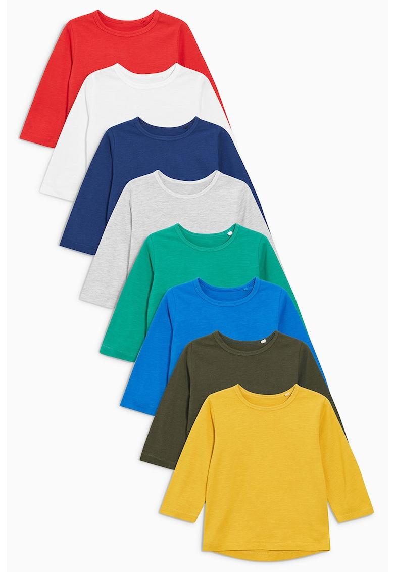 Set de bluze cu decolteu la baza gatului - 8 piese de la NEXT