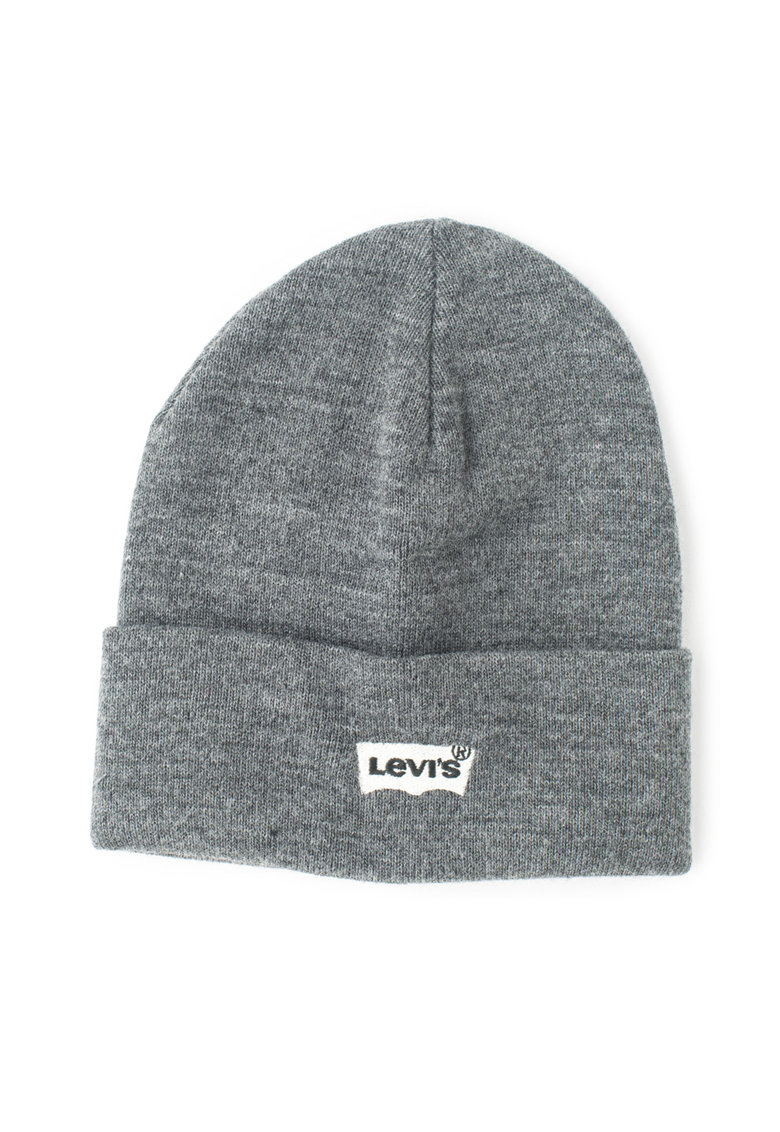 Caciula tricotata cu logo brodat – Unisex de la Levis