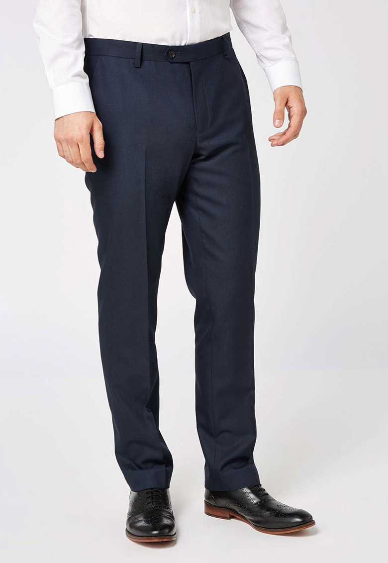 NEXT Pantaloni elaganti tailored fit cu pensa