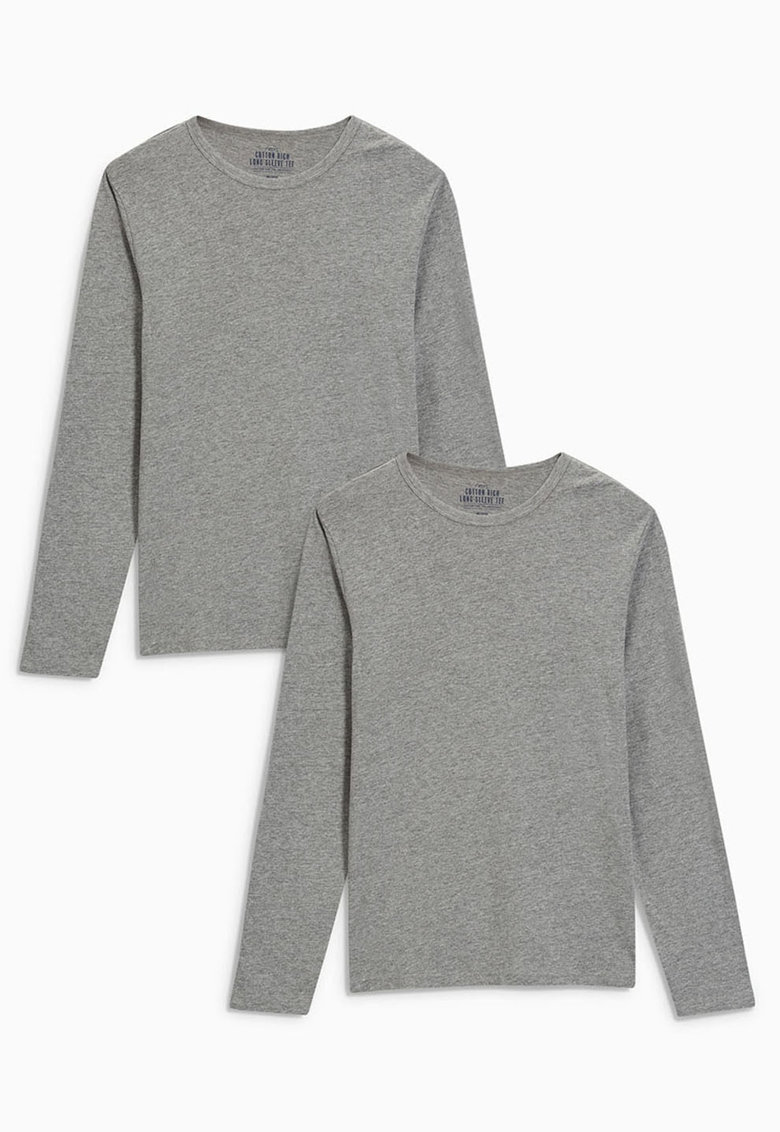 Set de bluze cu maneci lungi - 2 piese
