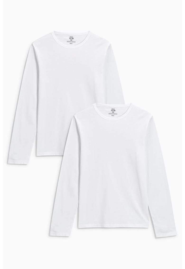 Set de bluze cu decolteu rotund - 2 piese de la NEXT