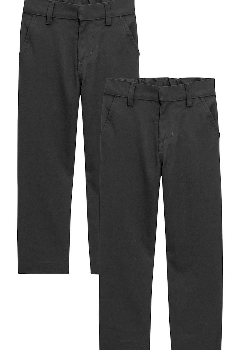 NEXT Pantaloni chino slim fit – 2 perechi