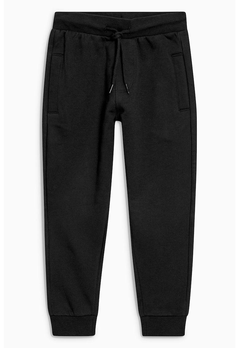 Pantaloni sport cu mansete striate 1