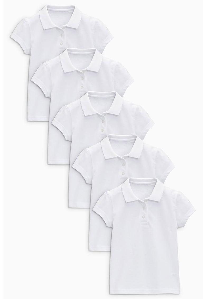 Set de tricouri polo - 5 piese