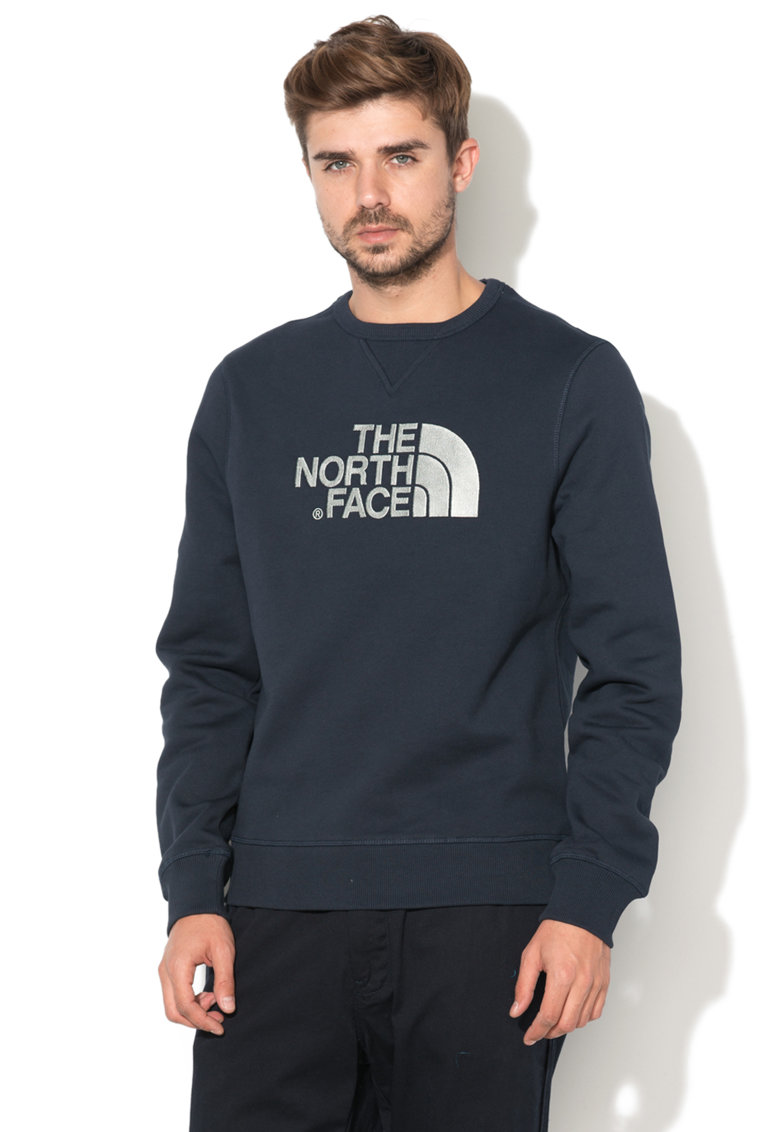 Bluza sport cu logo brodat Drew Peak de la The North Face
