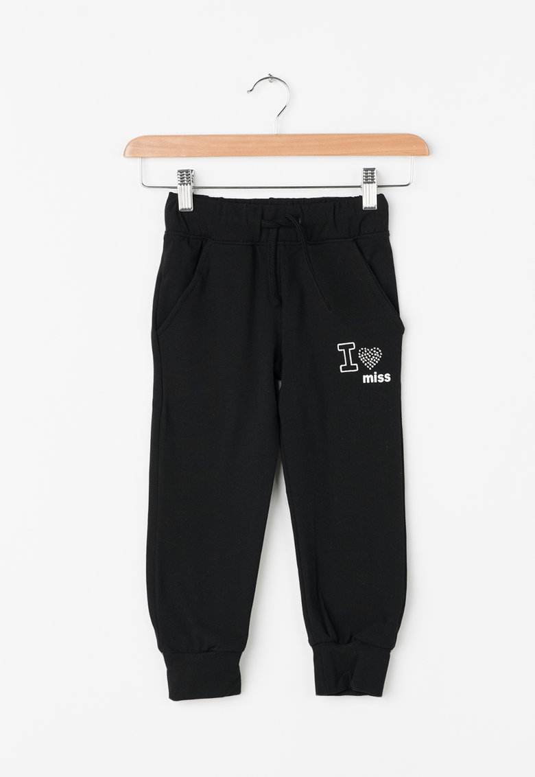 Pantaloni jogger cu snur thumbnail