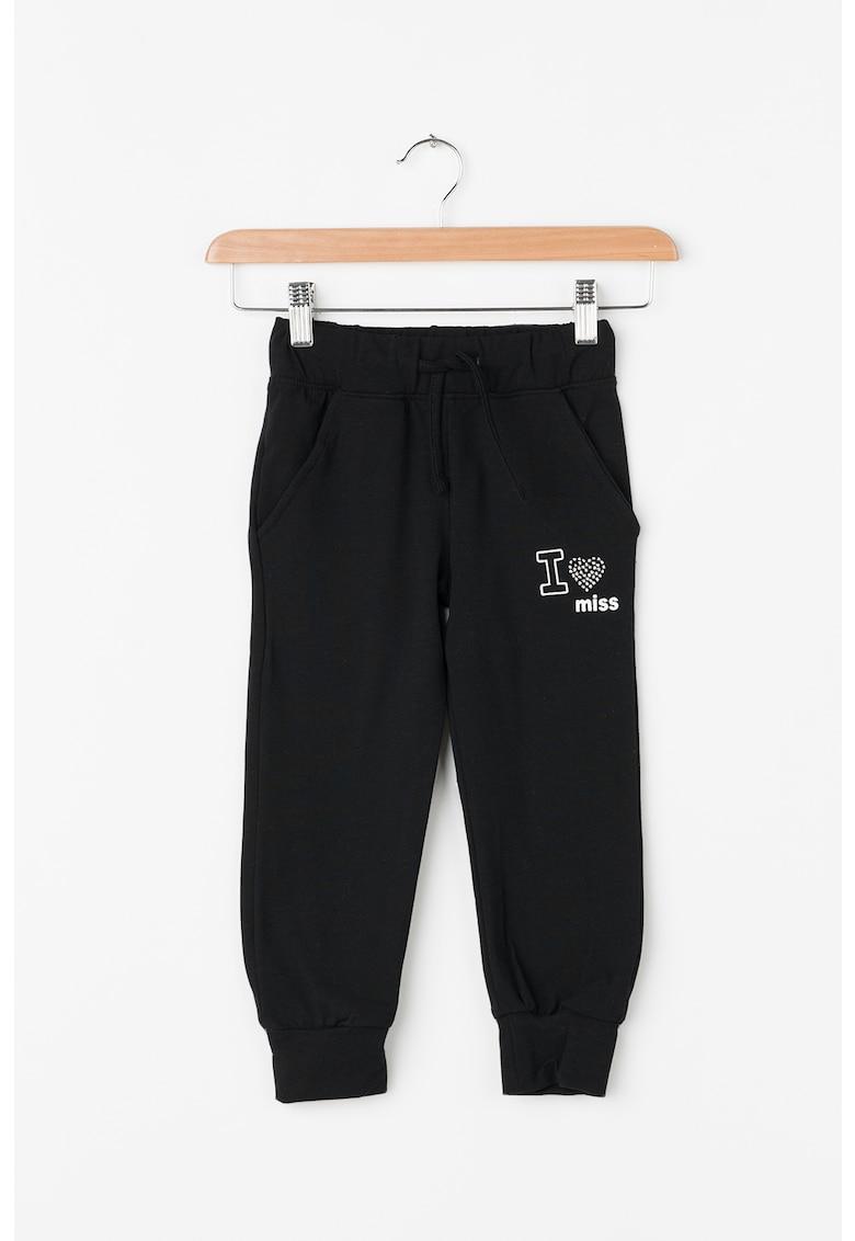 Pantaloni jogger cu snur