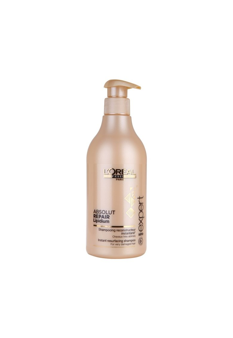 Sampon profesional pentru par foarte deteriorat L'Oréal Professionnel Serie Expert Absolut Repair Lipidium - 500ml thumbnail