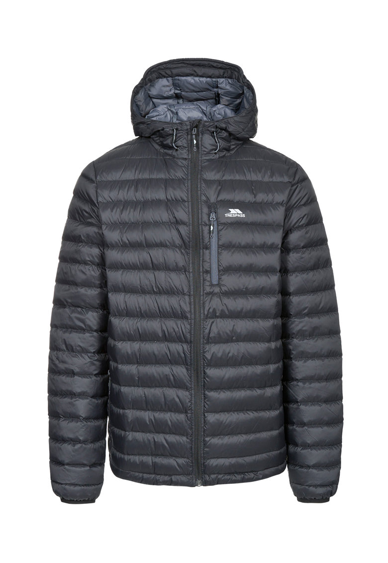Jacheta cu puf si gluga - pentru drumetii MAJKDOM20001