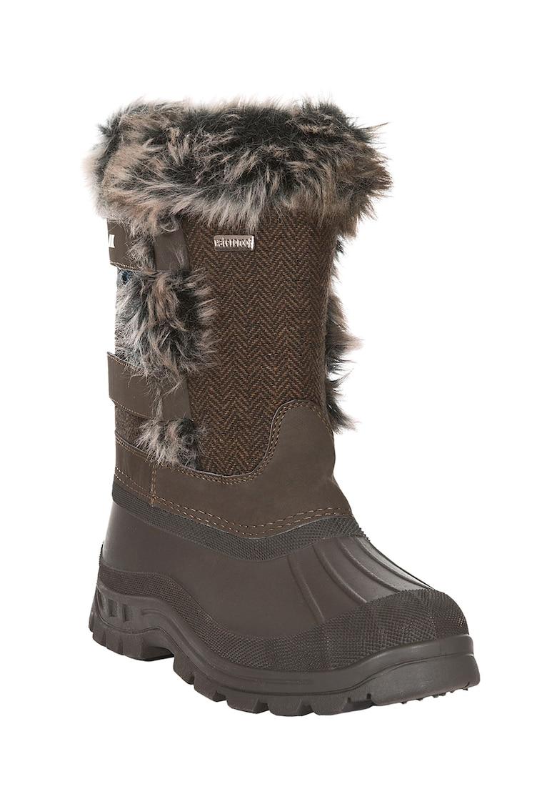 Cizme de iarna impermeabile cu garnituri de blana sintetica Brace
