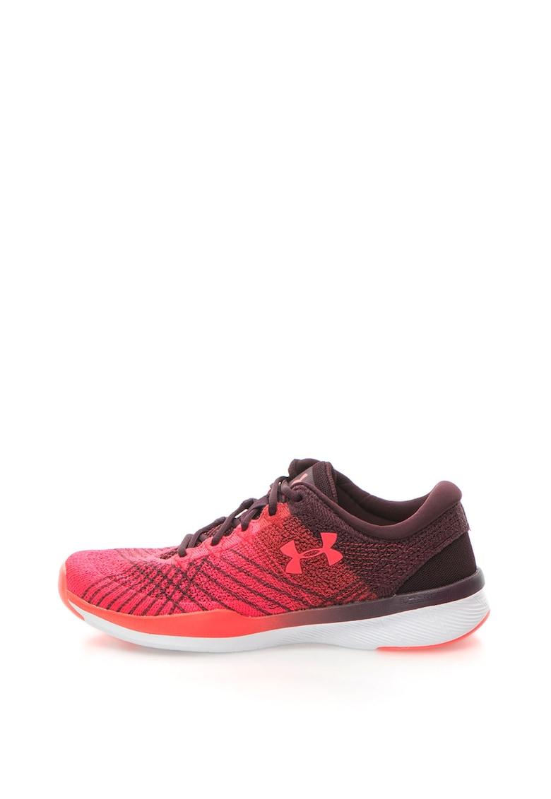 Pantofi sport cu aspect in degrade - pentru fitness Threadborne Push imagine