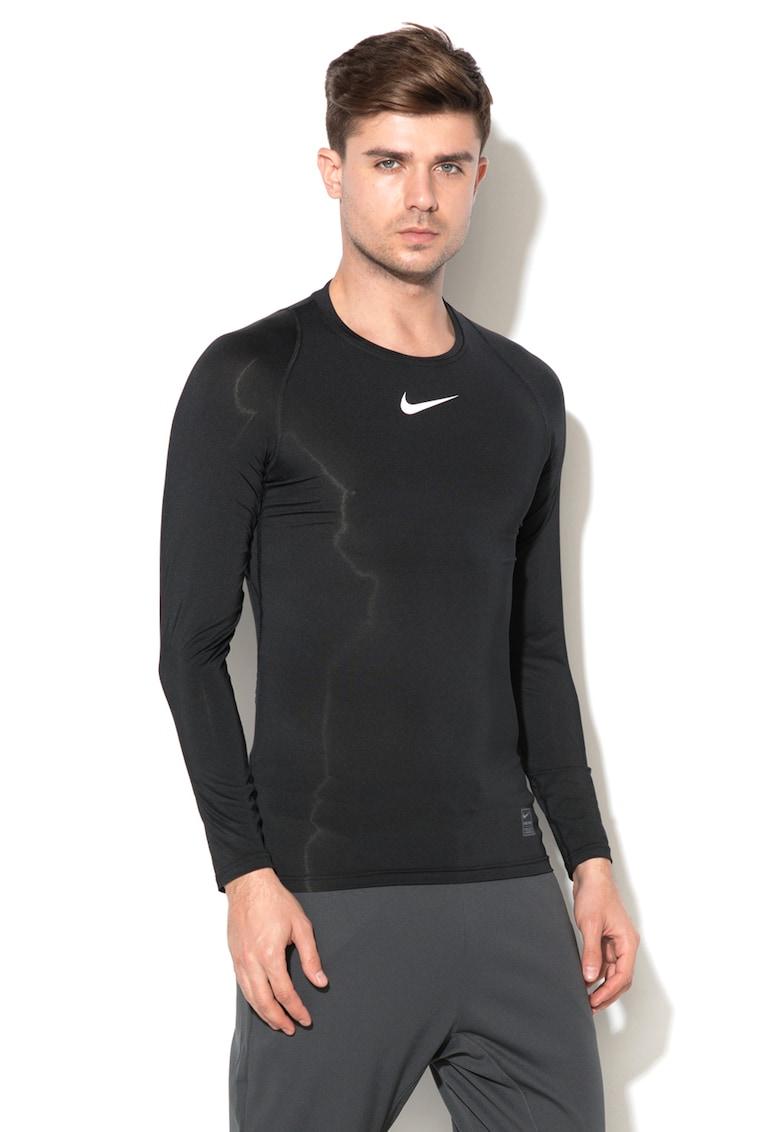 Bluza sport cu insertii de plasa