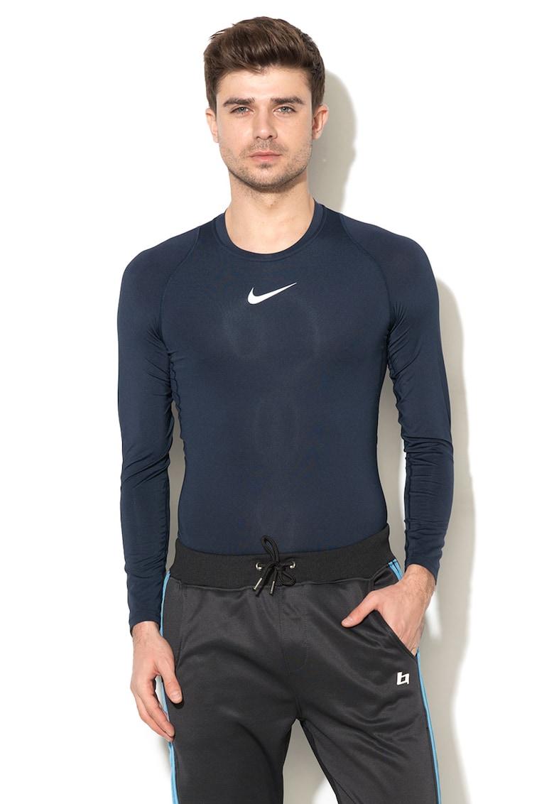 Bluza sport cu insertii de plasa de la Nike